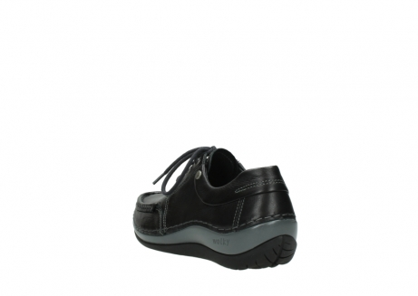 wolky chaussures a lacets 04825 coral winter 30001 cuir noir_5