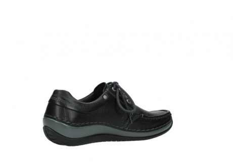 wolky chaussures a lacets 04825 coral winter 30001 cuir noir_11
