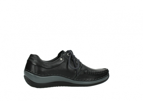 wolky chaussures a lacets 04825 coral winter 30001 cuir noir_12