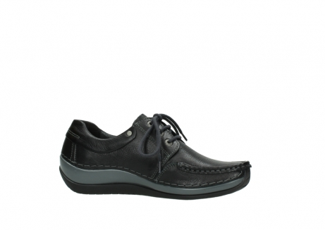 wolky chaussures a lacets 04825 coral winter 30001 cuir noir_14