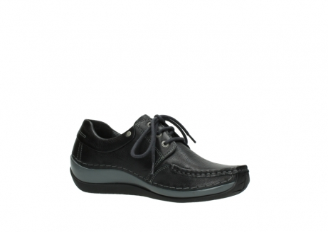 wolky chaussures a lacets 04825 coral winter 30001 cuir noir_15