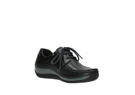 wolky chaussures a lacets 04825 coral winter 30001 cuir noir_16