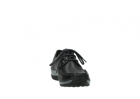 wolky chaussures a lacets 04825 coral winter 30001 cuir noir_18