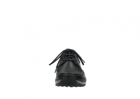 wolky lace up shoes 04825 coral winter 30001 black leather_19
