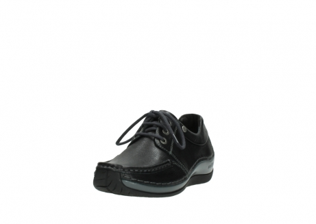 wolky chaussures a lacets 04825 coral winter 30001 cuir noir_21