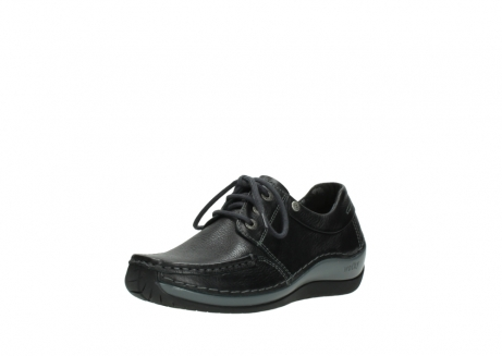 wolky chaussures a lacets 04825 coral winter 30001 cuir noir_22