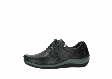 wolky chaussures a lacets 04825 coral winter 30001 cuir noir_24