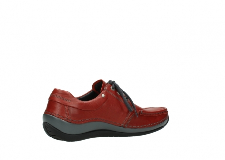 wolky lace up shoes 04825 coral winter 30541 winter red leather_11