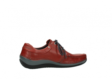 wolky lace up shoes 04825 coral winter 30541 winter red leather_12