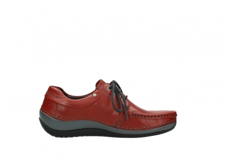 wolky lace up shoes 04825 coral winter 30541 winter red leather_13
