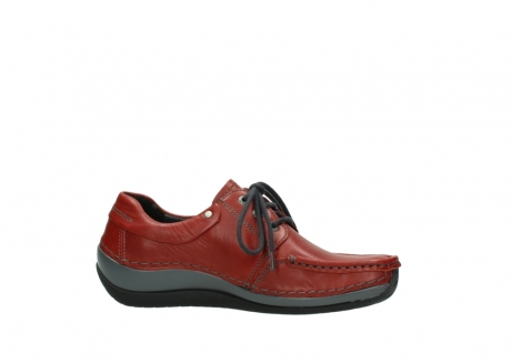 wolky lace up shoes 04825 coral winter 30541 winter red leather_14