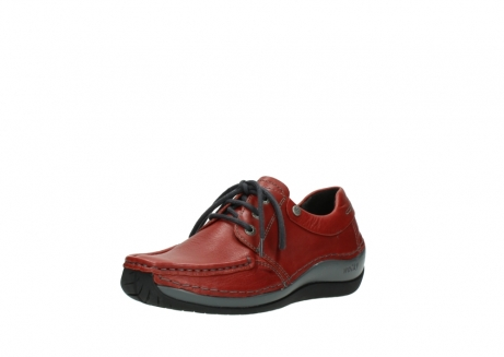 wolky lace up shoes 04825 coral winter 30541 winter red leather_22
