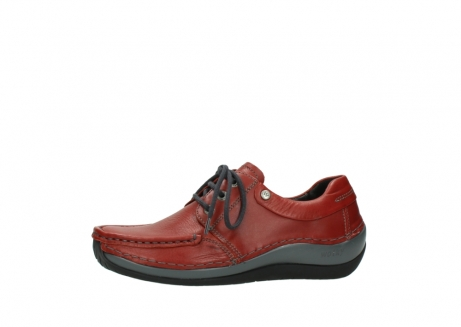 wolky lace up shoes 04825 coral winter 30541 winter red leather_24