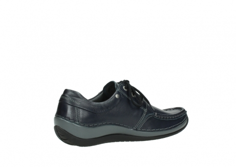 wolky chaussures a lacets 04825 coral winter 30801 cuir bleu_11