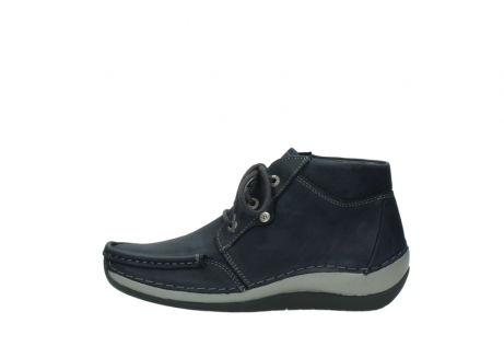 wolky lace up boots 04826 sensation 11802 blue oiled nubuck_1