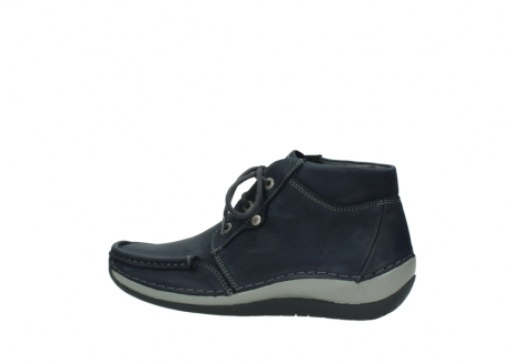 wolky lace up boots 04826 sensation 11802 blue oiled nubuck_2