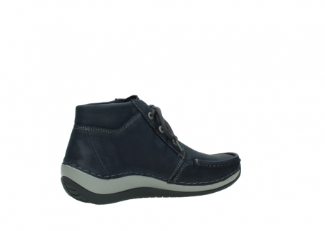 wolky lace up boots 04826 sensation 11802 blue oiled nubuck_11