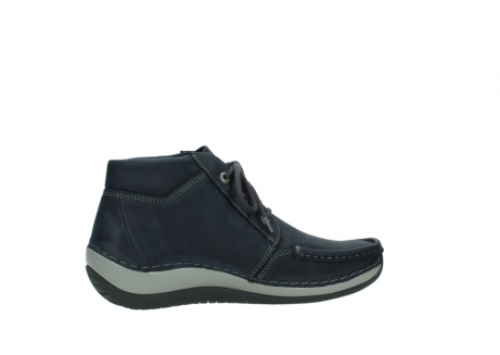wolky lace up boots 04826 sensation 11802 blue oiled nubuck_12