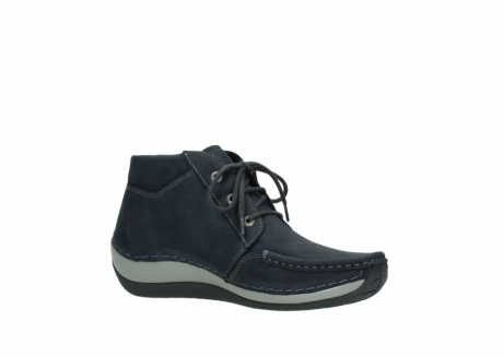 wolky lace up boots 04826 sensation 11802 blue oiled nubuck_15