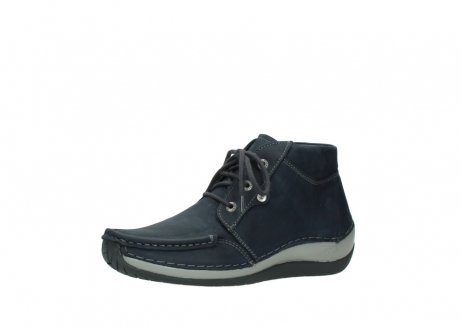 wolky lace up boots 04826 sensation 11802 blue oiled nubuck_23