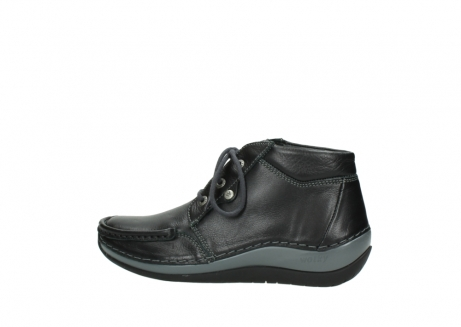wolky lace up boots 04826 sensation 30001 black leather_2