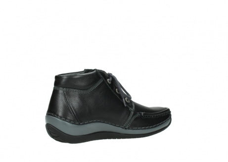wolky lace up boots 04826 sensation 30001 black leather_11