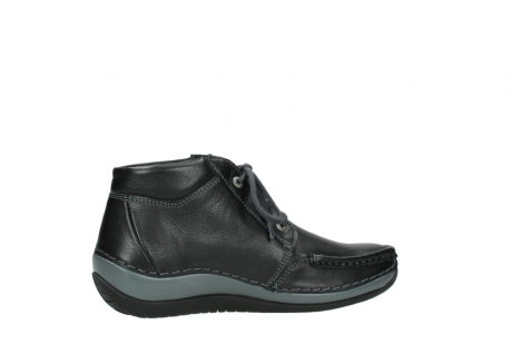wolky lace up boots 04826 sensation 30001 black leather_12
