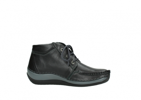 wolky lace up boots 04826 sensation 30001 black leather_14