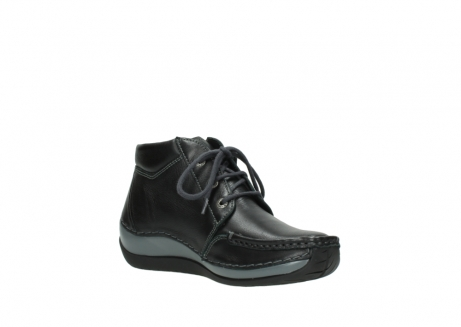 wolky lace up boots 04826 sensation 30001 black leather_16