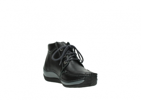 wolky lace up boots 04826 sensation 30001 black leather_17