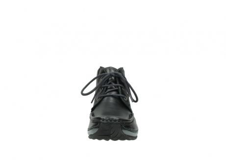wolky lace up boots 04826 sensation 30001 black leather_19