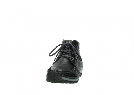 wolky lace up boots 04826 sensation 30001 black leather_20