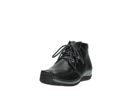 wolky lace up boots 04826 sensation 30001 black leather_21