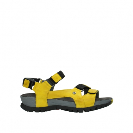 wolky sandalen 05450 cradle 30900 yellow leather