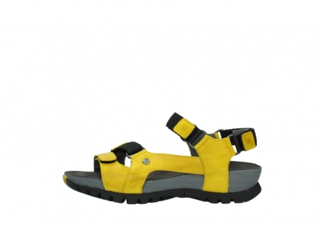 wolky sandalen 05450 cradle 30900 yellow leather_1
