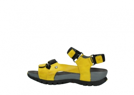 wolky sandalen 05450 cradle 30900 yellow leather_2