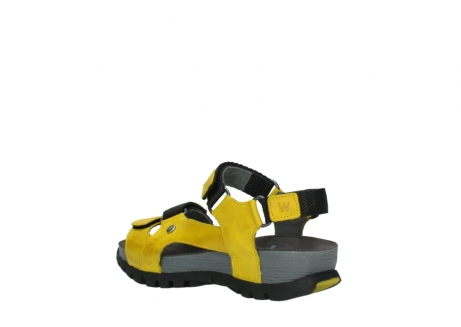 wolky sandalen 05450 cradle 30900 yellow leather_4