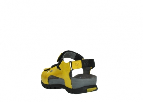 wolky sandalen 05450 cradle 30900 yellow leather_5