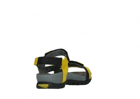 wolky sandalen 05450 cradle 30900 yellow leather_9