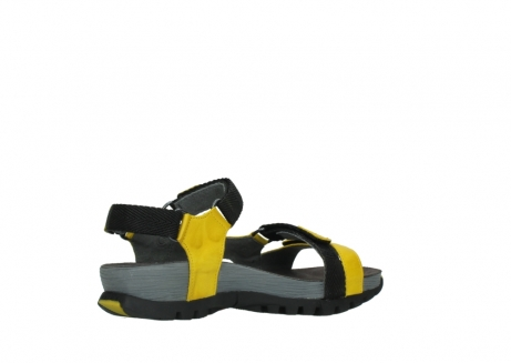 wolky sandalen 05450 cradle 30900 yellow leather_11
