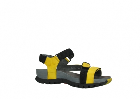 wolky sandalen 05450 cradle 30900 yellow leather_15