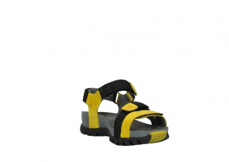 wolky sandalen 05450 cradle 30900 yellow leather_17