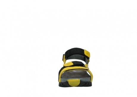 wolky sandalen 05450 cradle 30900 yellow leather_19