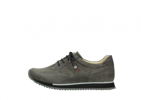 wolky chaussures a lacets 05800 e walk 20201 cuir stretch anthracite_1