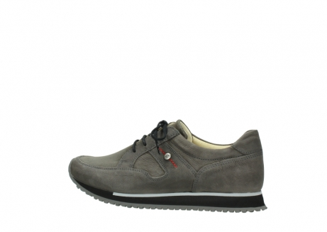 wolky chaussures a lacets 05800 e walk 20201 cuir stretch anthracite_2