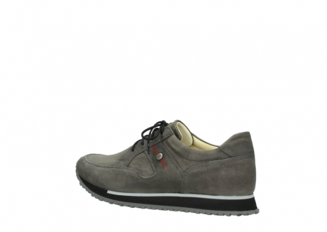 wolky chaussures a lacets 05800 e walk 20201 cuir stretch anthracite_3