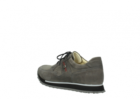 wolky chaussures a lacets 05800 e walk 20201 cuir stretch anthracite_4