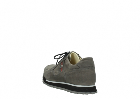 wolky chaussures a lacets 05800 e walk 20201 cuir stretch anthracite_5