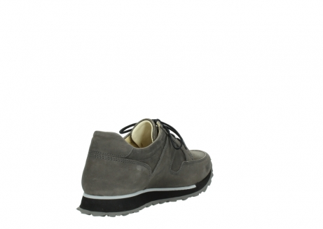 wolky chaussures a lacets 05800 e walk 20201 cuir stretch anthracite_9
