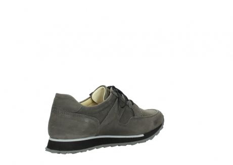 wolky chaussures a lacets 05800 e walk 20201 cuir stretch anthracite_10